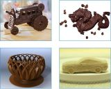 Горячая продажа продуктов питания с одним наконечником шоколад 3D-принтер для настольных ПК