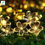 LED結婚式のための太陽Qedertekの花ストリングライト