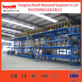 Machine de imperméabilisation de matériaux de bitume, usine de membrane de Sbs, chaîne de production de matériau de construction