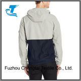 남자의 두건이 있는 물 저항하는 스포츠용 잠바 재킷