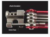 Comercio al por mayor de bicicletas práctico bolsillo mejor herramienta Multi