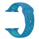 Abwechslungs-Uhrenarmband für Apple-Uhr-Sport-Silikon-Brücke-Band