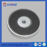 Gewinde-Loch-Potenziometer-Magnet-Ferrit-runde niedrige Magneten