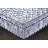 Matelas comprimé plat de dessus de palier de ressort Pocket avec des meubles de chambre à coucher