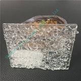 Niedriges Eisen-Gleitbetriebs-lamelliertes Glas-Kunst-Gebäude-Glas