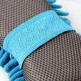 Toalha do Chenille com esponja e a faixa elástica