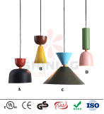 Do alumínio moderno da lâmpada do pendente da decoração iluminação de suspensão do pendente