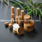 Série de bambu vaso de acrílico jarra de acrílico para embalagem de cosméticos (PPC-BS-001)