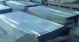最高レベルの波形を付けられるか、または台形電流を通された鋼鉄屋根ふき版