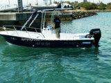 Panga externo de la pesca del barco marina de la fibra de vidrio de Liya 19feet