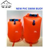 De nieuwe Duurzame Vlotter van pvc zwemt de Droge Zak van de Boei voor de Open Zwemmers van het Water