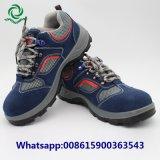 鋼鉄つま先の鋼板人の革安全靴