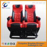 Cinema em 7D com sistema de cadeira eléctrica