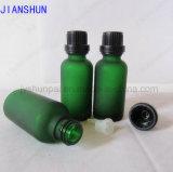 verde di bottiglia di vetro dell'olio essenziale 10ml