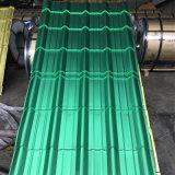 高輝度およびよい安定性のペットによって電流を通される鋼板