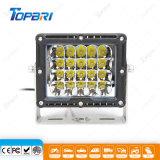 luz resistente cuadrada de la conducción de automóviles de 100W IP68 LED