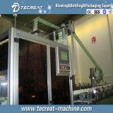 Línea de embotellamiento del agua máquina de etiquetado caliente de Fed OPP del rodillo del pegamento del derretimiento