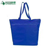Sacs d'emballage promotionnels en nylon de grand d'épicerie polyester accessible solide de sacs