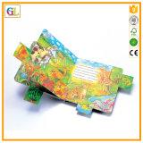 Alta stampa del libro di bambini della scheda di Qaulity (OEM-GL005)