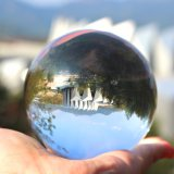Bola de Cristal Transparente Pulido Suave de bola de cristal transparente
