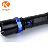 3W una torcia elettrica blu luminosa eccellente tenuta in mano da 200 lumen LED