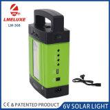 Sistema de iluminación solar con reproductor de MP3 y radio FM