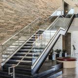 Aluminiumplattform-Geländer-Systems-Aluminiumtreppe, die Entwürfe mit der Eisenbahn befördert