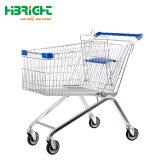 Supermarché en plastique et métal monobloc Panier