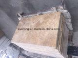 Marmeren Tegel van de Travertijn van de Betonmolens van de travertijn de Beige voor Badkamers
