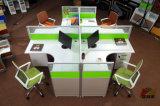 高品質の現代木製のコンピュータの事務机ワークステーション