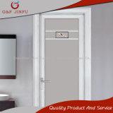 Porta de painel impermeável forte de alumínio do banheiro com vidro dobro