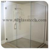 10mm, bas de fer pour boîtier de douche en verre trempé