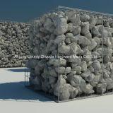 Geschweißtes Ineinander greifen Gabion des China-Großhandelsineinander greifen-75X75mm für die Landschaftsgestaltung
