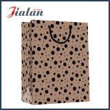 Don de vêtements de l'emballage OEM shopping bon marché de la promotion des sacs en papier kraft