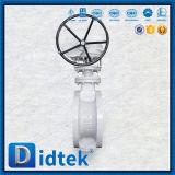 Valvola a farfalla manuale di temperatura insufficiente della prova di Didtek 100%