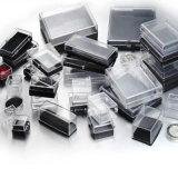 習慣60*64*18mmのプラスチックの箱の宝石箱、メダルボックス、カフスボタンボックス、バッジボックス(YB-BX-435)