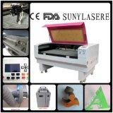 Cortadora del laser de Sunylaser 1200*800m m para el paño