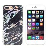 Het gouden Geval van de Telefoon van het Ontwerp van de Textuur van het Chroom Marmeren Duurzame voor iPhone X