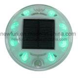 새로운 도착 8 PCS LED 묘안석 태양 도로 반사체
