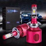 Phare automobile de la puissance en watts H7 DEL de l'aluminium 20 d'aviation de phares d'entraînement interne DEL
