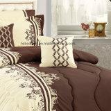 Pilllow 케이스 침대 치마 100%년 폴리에스테 침구 세트를 가진 위안자 세트