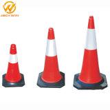 도로 안전 주차 금지 표시 75cm PE 소통량 콘