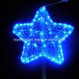 Dekoration-Weihnachtsbaum-Deckel des LED-Motiv-Licht-Stern-LED
