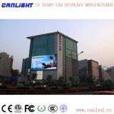 Im Freien farbenreiche örtlich festgelegte Bildschirmanzeige LED-P10 für das Bekanntmachen des Bildschirms