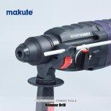 Martelo demolidor Makute 26mm aperto SDS com brocas de perfuração