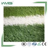 Gramado artificial do passo sintético fácil do futebol do relvado do Não-Infill da instalação