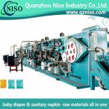 800 PCS/Minのフルオートマチックの生理用ナプキンの機械工場の製造(HY800-SV)