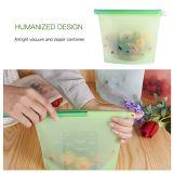 재사용할 수 있는 실리콘 식품 보존 부대 완벽한 물개 음식 저장 그릇 다재다능한 요리 부대 부엌 요리 기구