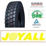 12r20 11r20 18pr Joyall Marken-Radialstahl-LKW-Gummireifen mit GCC-PUNKT ECE