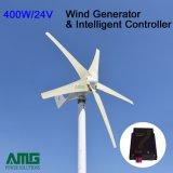 400W три лопасти мини ветра генератор для морской /промысел/сад с системой